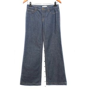 See by Chloe Dark Wash High Waist Flared Jeans